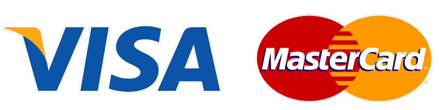 visa, mastercard logo